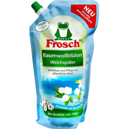 Frosch Ополаскиватель для белья  Цветы хлопка 1000мл