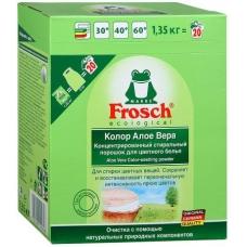 Frosch порошок для стирки концентрат УФ-филт. Color 1350гр