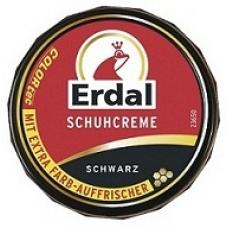 ERDAL Крем-банка для обуви черный 75мл