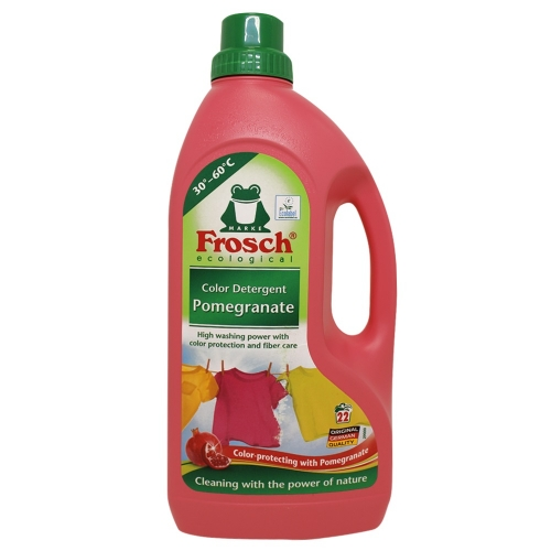 Frosch гель для стирки Гранат, 1.5 л., Концентрат.