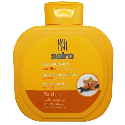 SAIRO Гель для ванны и душа Ванильное ощущение 750мл.
