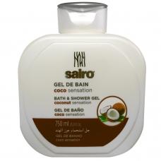 SAIRO Гель для ванны и душа Кокосовое ощущение 750 мл.