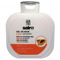 SAIRO Гель для ванны и душа Папайя 750 мл.