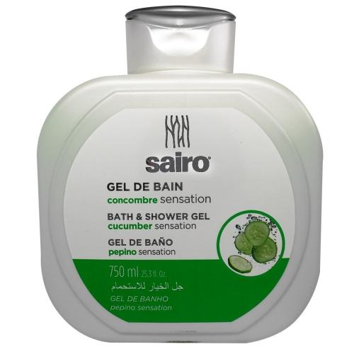 SAIRO Гель для ванны и душа Огурец 750 мл.
