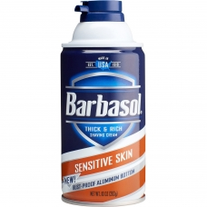 Barbasol Пена для бритья для чувствительной кожи, 283 г