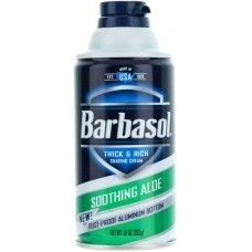Barbasol Пена для бритья с алое для сухой кожи, 283 г