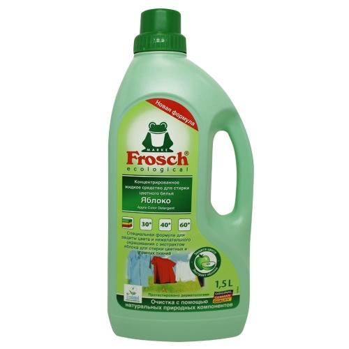 Frosch Конц.гель для стирки Яблоко 1,5 л