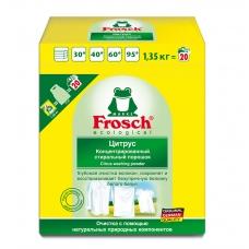 Frosch порошок для стирки белого концентрат 1350гр