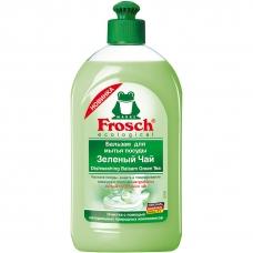 Frosch Бальзам для мытья посуды Зеленый чай, 500мл