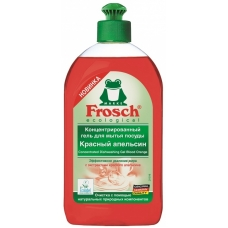 Frosch Гель-концентрат для мытья посуды Красный Апельсин, 500мл
