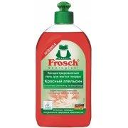 Frosch для мытья посуды Апельсин Красный Гель-концентрат, 500мл