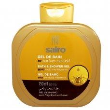 SAIRO Гель для ванны и душа Исключительный золотой аромат 750мл.